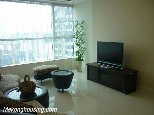 Modern furnished apartment with 3 bedrooms for rent at good price in Keangnam Landmark, Hanoi 1
