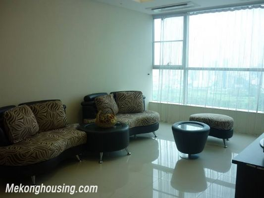 Modern furnished apartment with 3 bedrooms for rent at good price in Keangnam Landmark, Hanoi 3