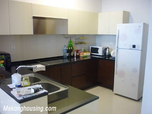 Modern furnished apartment with 3 bedrooms for rent at good price in Keangnam Landmark, Hanoi 7