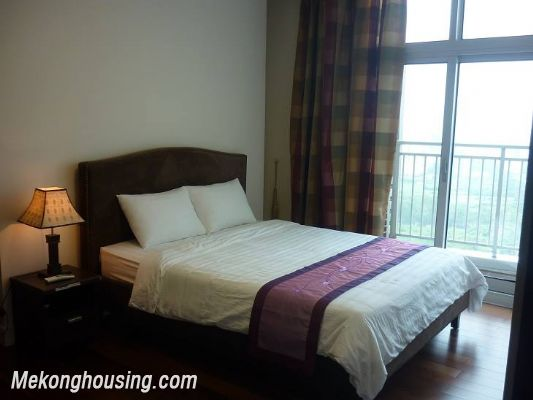 Modern furnished apartment with 3 bedrooms for rent at good price in Keangnam Landmark, Hanoi 8