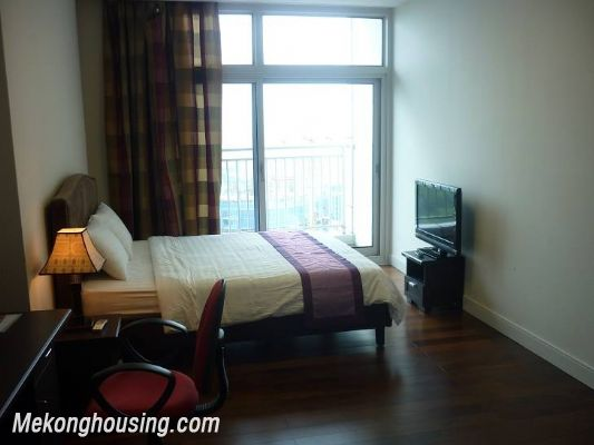 Modern furnished apartment with 3 bedrooms for rent at good price in Keangnam Landmark, Hanoi 10