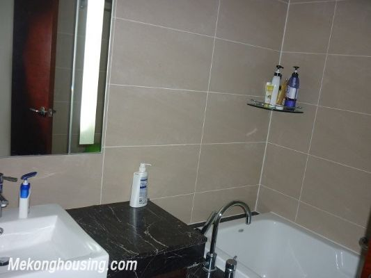 Modern furnished apartment with 3 bedrooms for rent at good price in Keangnam Landmark, Hanoi 11