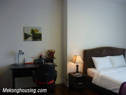 Modern furnished apartment with 3 bedrooms for rent at good price in Keangnam Landmark, Hanoi 9
