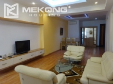 Modern furnished apartment with 3 bedrooms for rent in E4 Ciputra Ha Noi