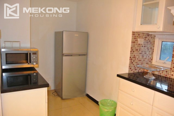 Modern furnished penthouse apartment with cozy 1 bedrooms for rent near Ba Dinh square, Hanoi 5