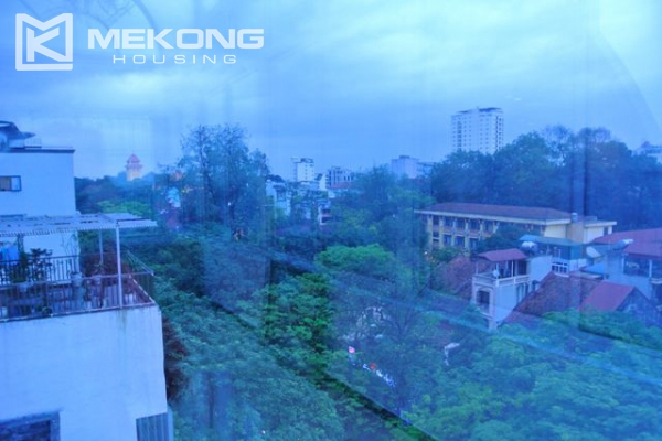 Modern furnished penthouse apartment with cozy 1 bedrooms for rent near Ba Dinh square, Hanoi 8