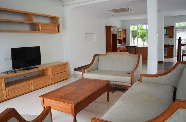 Modern furnished villa with 4 bedrooms and open surroundings in T block, Ciputra Hanoi