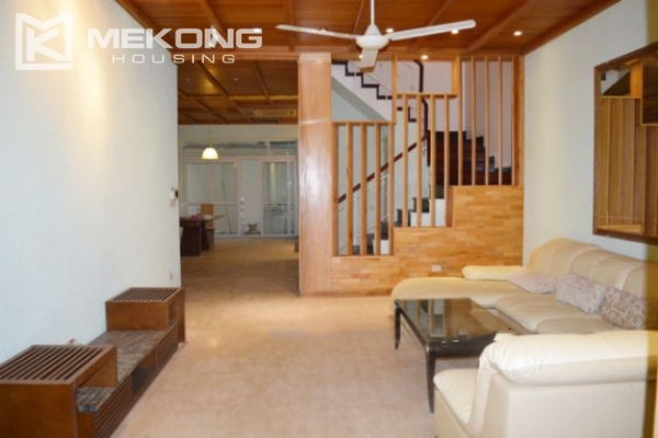 Modern furnished villa with 4 bedrooms for rent in T block, Ciputra Hanoi 2