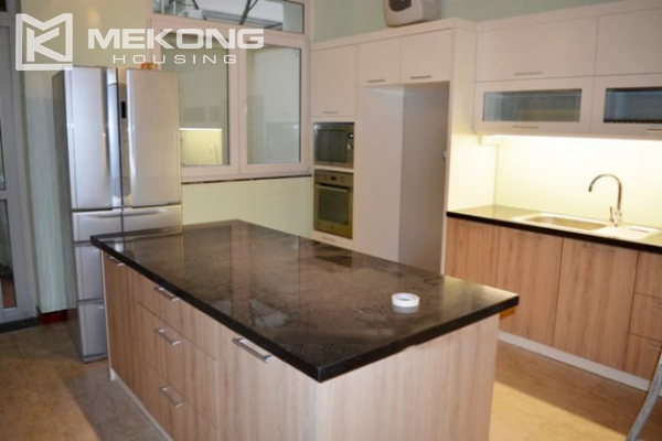 Modern furnished villa with 4 bedrooms for rent in T block, Ciputra Hanoi 5