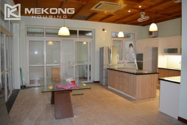 Modern furnished villa with 4 bedrooms for rent in T block, Ciputra Hanoi 7