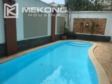 Modern furnished villa with swimming pool for rent in C area, Ciputra Hanoi