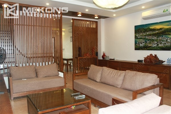 Modern house with 4 bedrooms for rent in Gamuda Gardens, Hoang Mai district 2