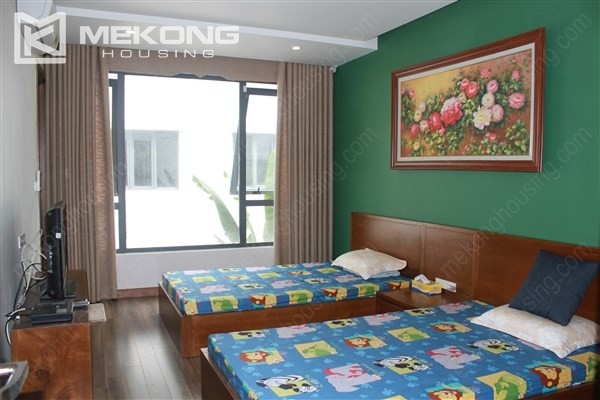 Modern house with 4 bedrooms for rent in Gamuda Gardens, Hoang Mai district 14