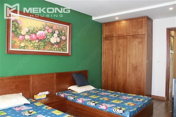 Modern house with 4 bedrooms for rent in Gamuda Gardens, Hoang Mai district 15