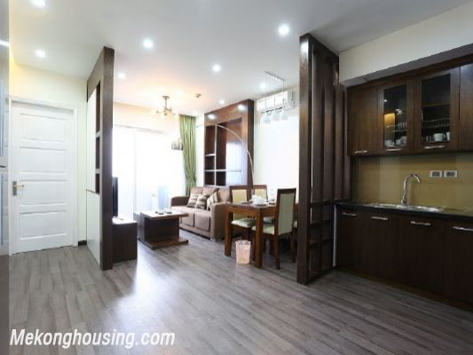 Modern serviced apartment with 2 bedrooms for rent in Cau Giay street, Cau Giay, Hanoi 1