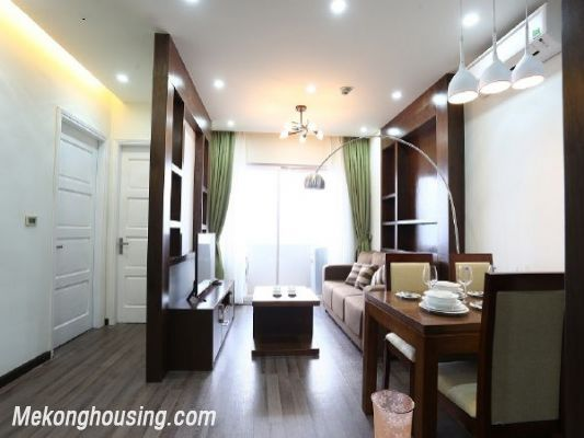 Modern serviced apartment with 2 bedrooms for rent in Cau Giay street, Cau Giay, Hanoi 2