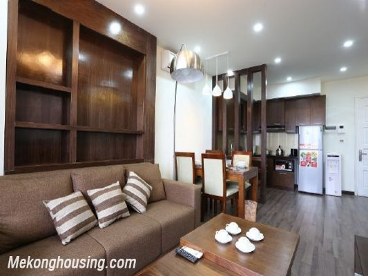 Modern serviced apartment with 2 bedrooms for rent in Cau Giay street, Cau Giay, Hanoi 4