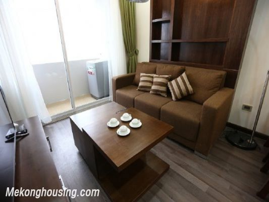 Modern serviced apartment with 2 bedrooms for rent in Cau Giay street, Cau Giay, Hanoi 5