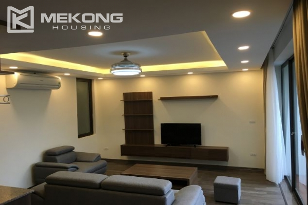 Modern serviced apartment with 2 bedrooms for rent in To Ngoc Van 2