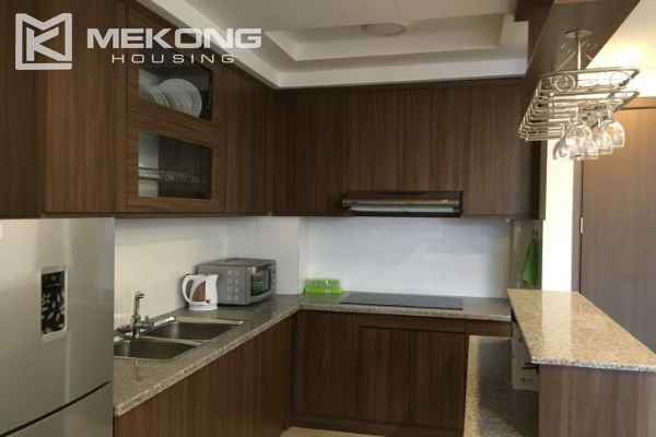 Modern serviced apartment with 2 bedrooms for rent in To Ngoc Van 5