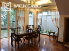 Modern villa with 5 bedrooms for rent in T block Ciputra Hanoi