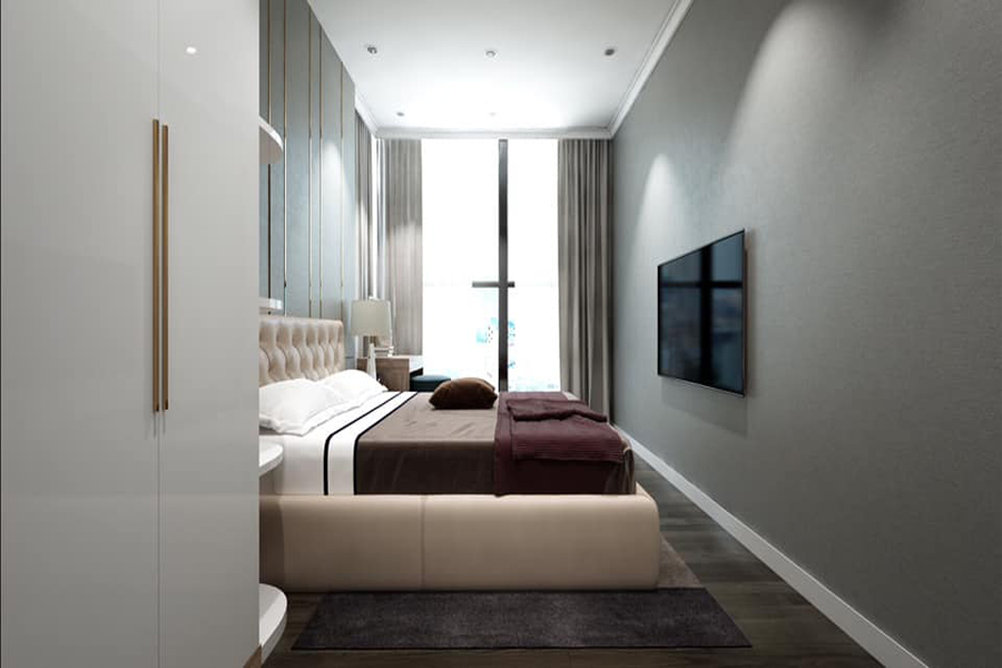 Modernly designed apartment with 3 bedrooms for rent in Sunshine Riverside Tay Ho, Hanoi 12