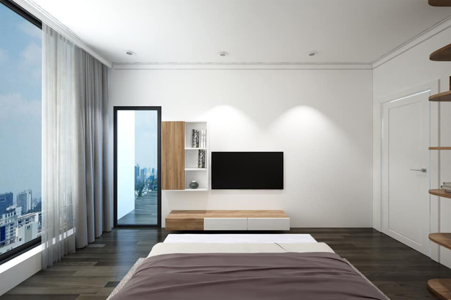 Modernly designed apartment with 3 bedrooms for rent in Sunshine Riverside Tay Ho, Hanoi 13