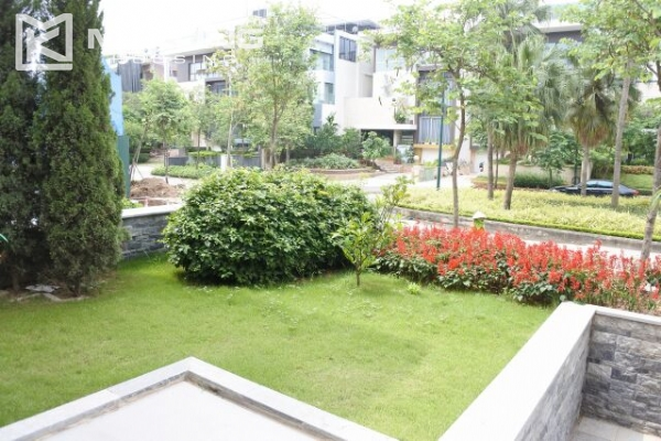 Modernly furnished villa with spacious garden and 7 bedrooms in Q block, Ciputra Hanoi 2