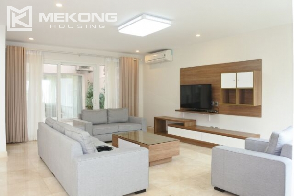 Modernly furnished villa with spacious garden and 7 bedrooms in Q block, Ciputra Hanoi 3