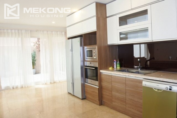 Modernly furnished villa with spacious garden and 7 bedrooms in Q block, Ciputra Hanoi 10