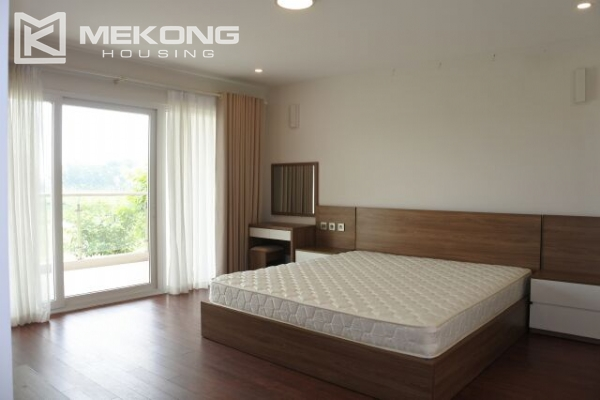 Modernly furnished villa with spacious garden and 7 bedrooms in Q block, Ciputra Hanoi 15