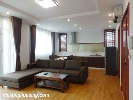 New and full furniture serviced apartment for rent in Yen Phu street, Tay Ho, Hanoi 2