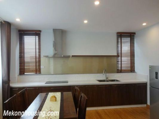 New and full furniture serviced apartment for rent in Yen Phu street, Tay Ho, Hanoi 3