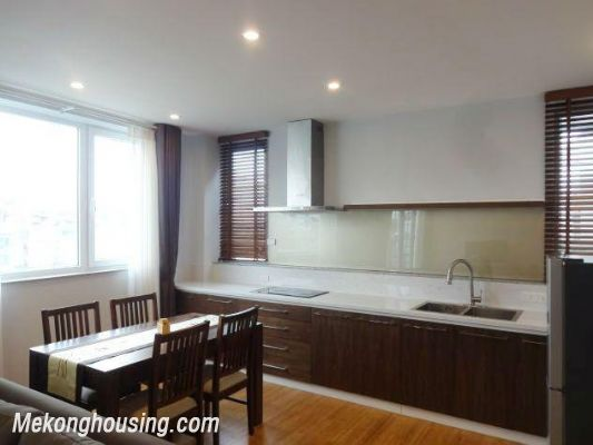 New and full furniture serviced apartment for rent in Yen Phu street, Tay Ho, Hanoi 4