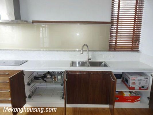 New and full furniture serviced apartment for rent in Yen Phu street, Tay Ho, Hanoi 5