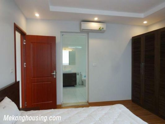 New and full furniture serviced apartment for rent in Yen Phu street, Tay Ho, Hanoi 12