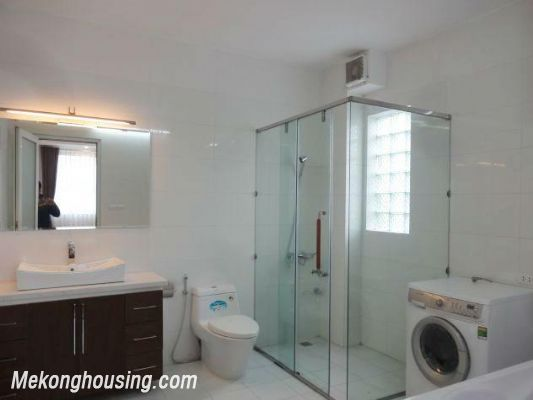 New and full furniture serviced apartment for rent in Yen Phu street, Tay Ho, Hanoi 13