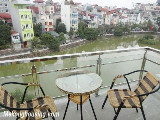 New and full furniture serviced apartment for rent in Yen Phu street, Tay Ho, Hanoi 8