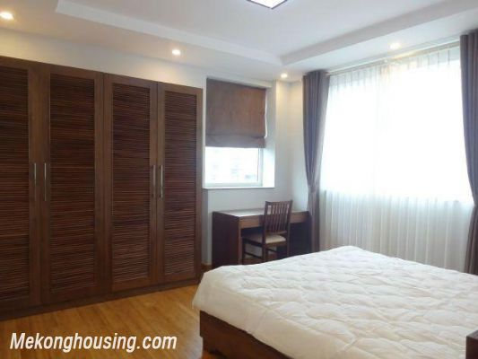 New and full furniture serviced apartment for rent in Yen Phu street, Tay Ho, Hanoi 9
