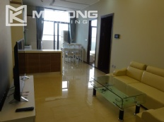 Newly furnished apartment with 2 bedrooms for rent in CT2B, Trang An Complex, Cau Giay
