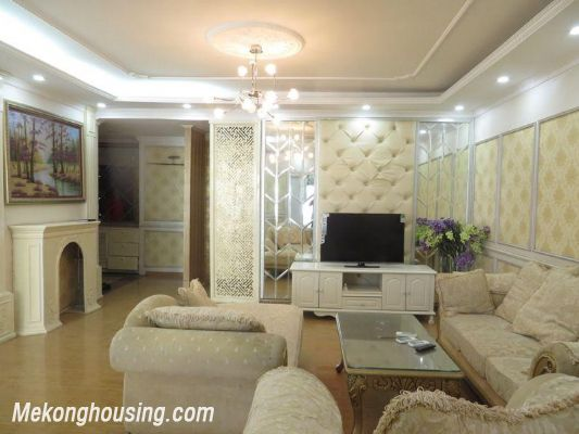 Nice apartment with 3 bedrooms for rent in 25t2 Hoang Dao Thuy, Cau Giay, Hanoi 1