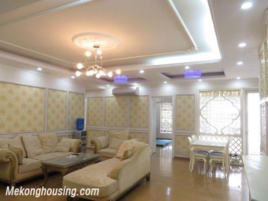 Nice apartment with 3 bedrooms for rent in 25t2 Hoang Dao Thuy, Cau Giay, Hanoi 3
