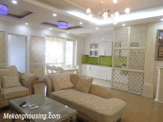 Nice apartment with 3 bedrooms for rent in 25t2 Hoang Dao Thuy, Cau Giay, Hanoi 4
