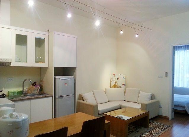 Nice apartment with one bedroom for rent in Cong Vi, Ba Dinh, Hanoi