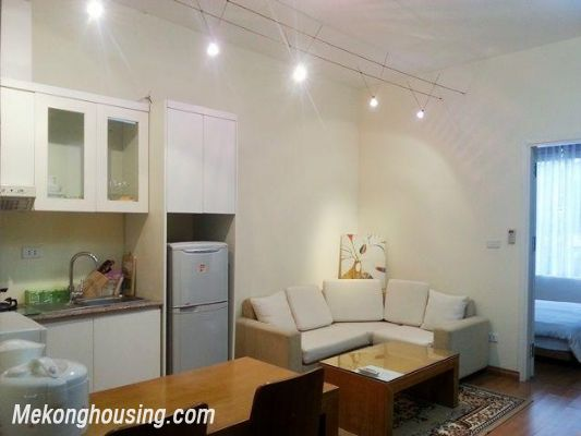 Nice apartment with one bedroom for rent in Cong Vi, Ba Dinh, Hanoi 1