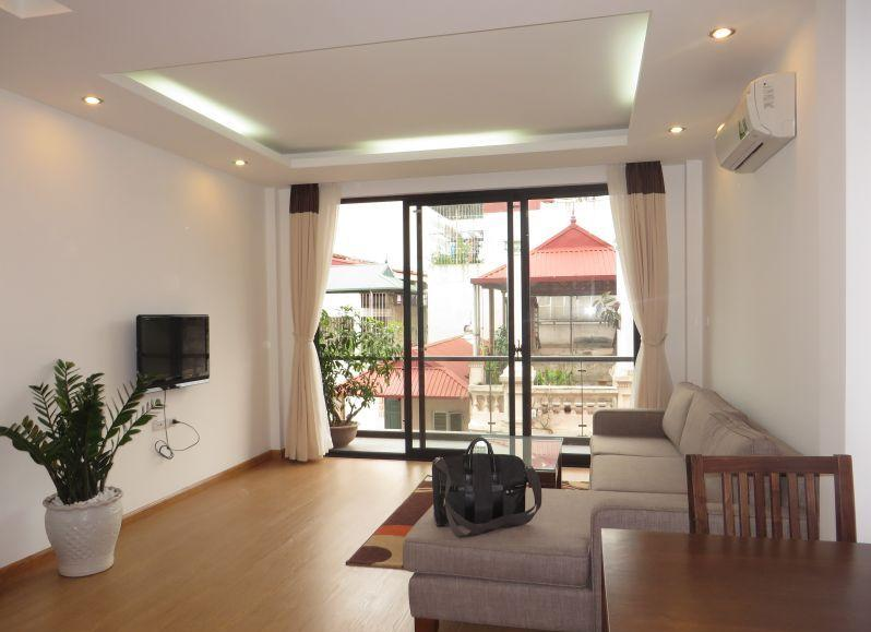 Nice serviced apartment for rent in Quan Ngua, Ba Dinh distict, Hanoi