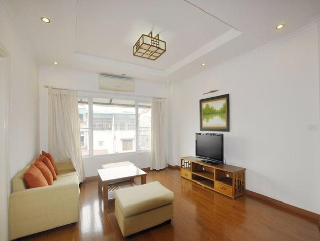 Nice serviced apartment for rent in To Ngoc Van street, Tay Ho district, Hanoi