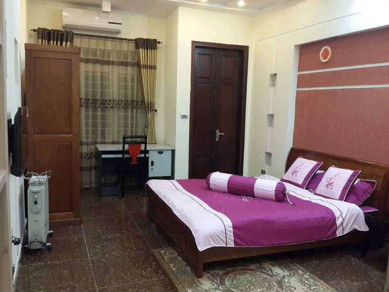 Nice serviced apartment in Lieu Giai street, Ba Dinh district, Hanoi for lease