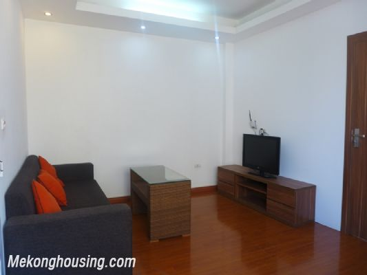 Nice serviced apartment with 1 bedroom for rent in Au Co street, Tay Ho district, Hanoi 1