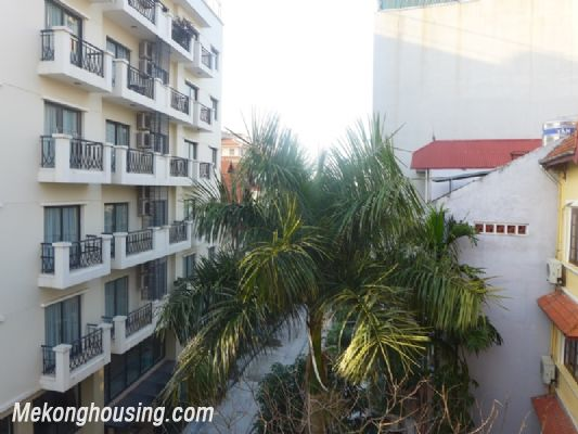 Nice serviced apartment with 1 bedroom for rent in Au Co street, Tay Ho district, Hanoi 8